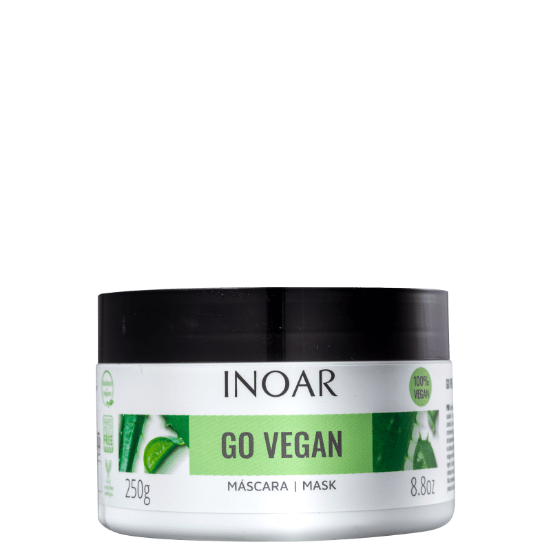 Inoar Go Vegan Equilíbrio - Máscara Capilar 250g