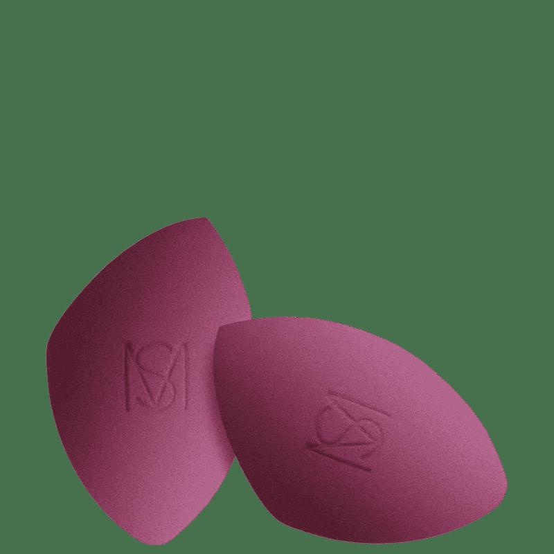 Kit Mariana Saad By Océane Flat Blend Duo - Esponja para Maquiagem (2 Unidades)