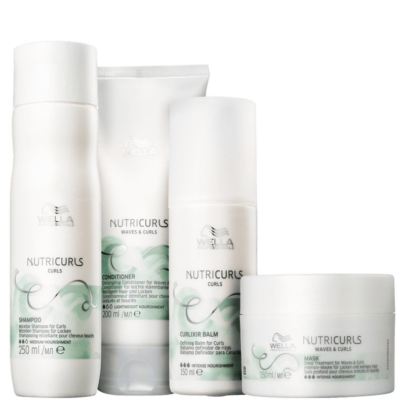 Kit Wella Professionals Nutricurls Daily (4 Produtos)