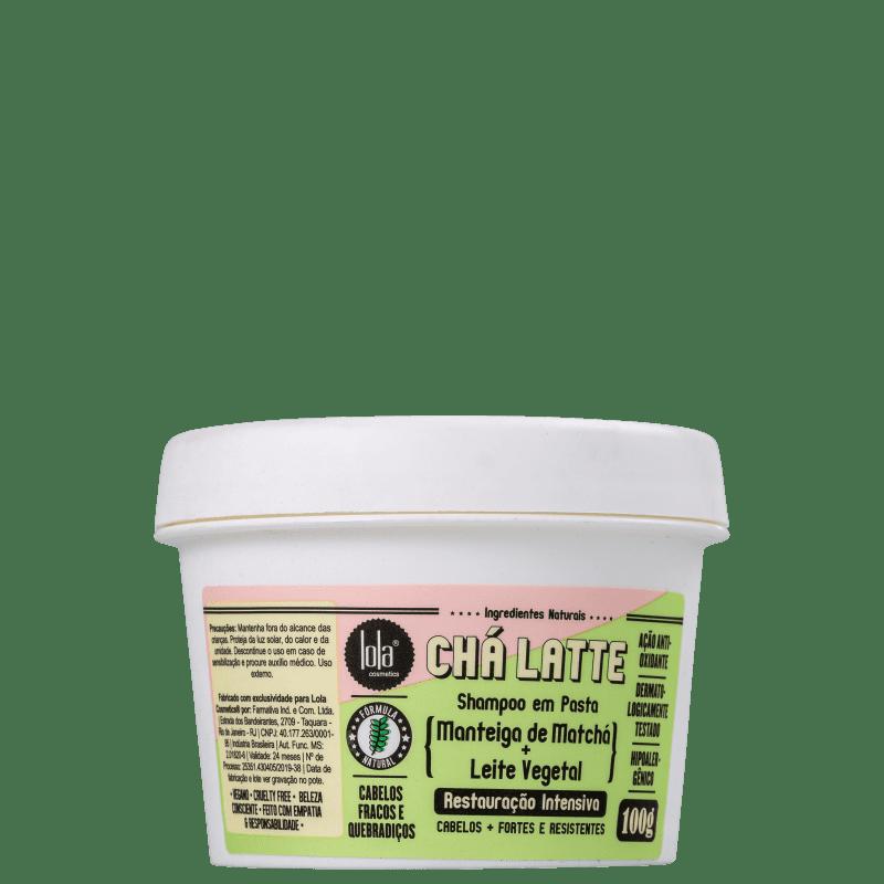 Lola Cosmetics Chá Latte Manteiga de Matchá + Leite Vegetal - Shampoo 100g