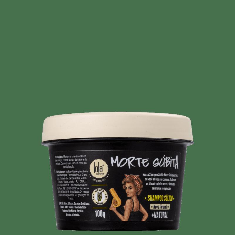 Lola Cosmetics Morte Súbita - Shampoo Esfoliante 100g