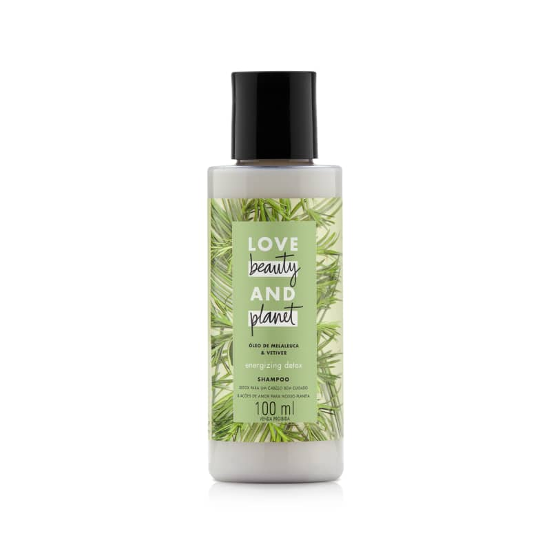 Love Beauty and Planet Energizing Detox - Shampoo 100ml
