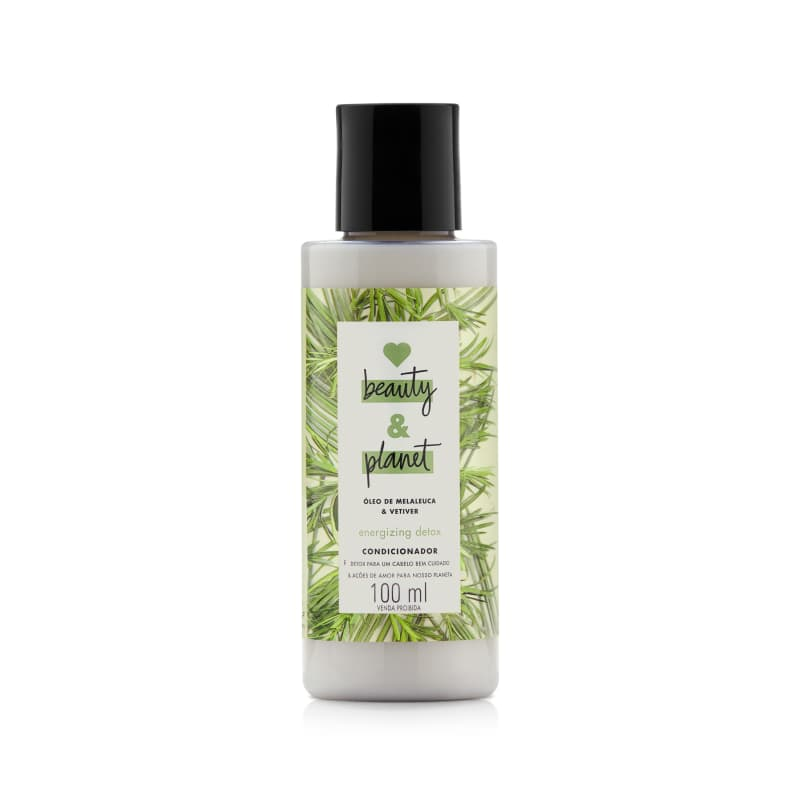 Love Beauty and Planet Energizing Detox - Condicionador 100ml