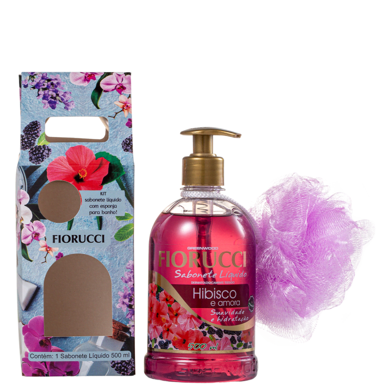 Kit Fiorucci Hibisco e Amora (2 Produtos)