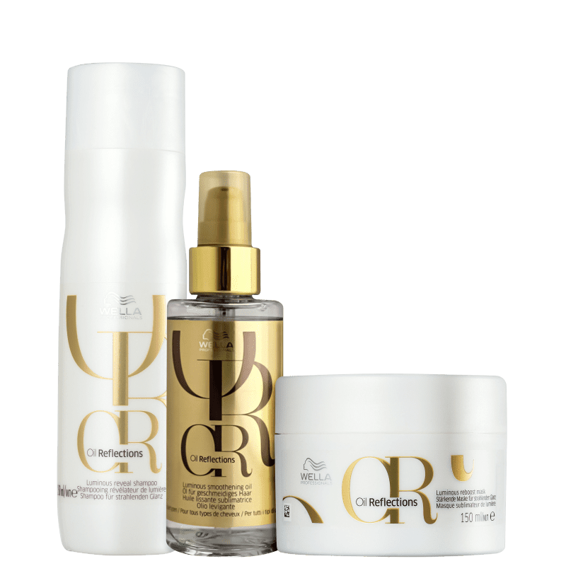 Kit Wella Professionals Oil Reflections Rich (3 Produtos)