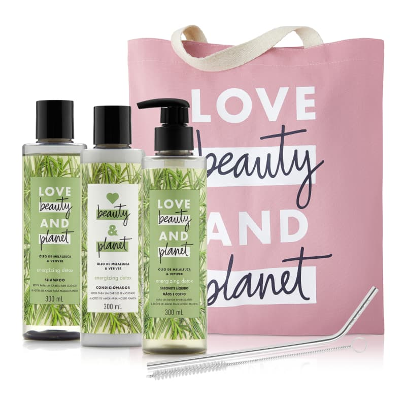 Kit Love Beauty and Planet Energizing Detox (5 produtos)
