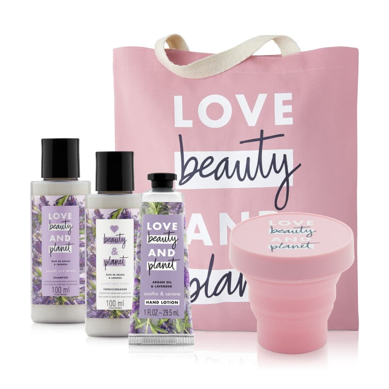 Kit Love Beauty and Planet Smooth & Serene 100 ml (5 produtos)