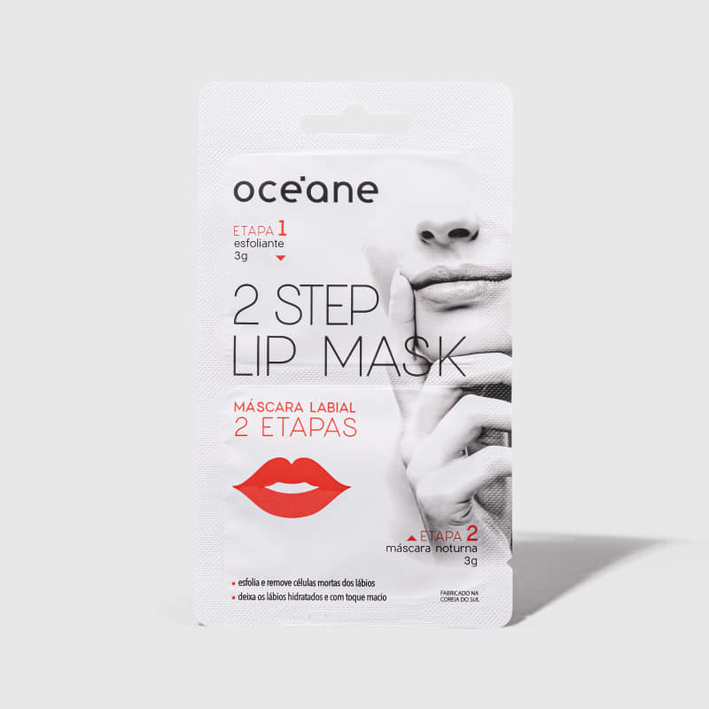 2 Step Lip Mask - Máscara Labial 2 Etapas