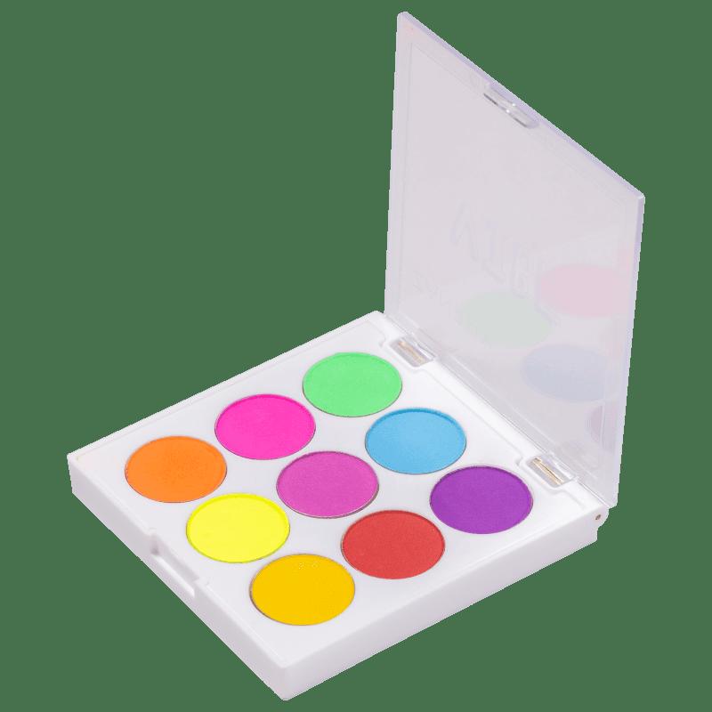 Zanphy Vibe Neon 02 - Paleta de Sombras 11,7g