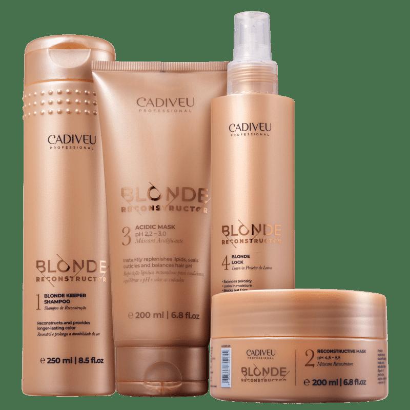 Kit Cadiveu Blonde Reconstructor (4 produtos)