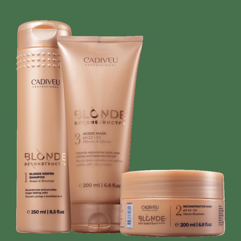 Kit Cadiveu Blonde Reconstructor Care (3 produtos)