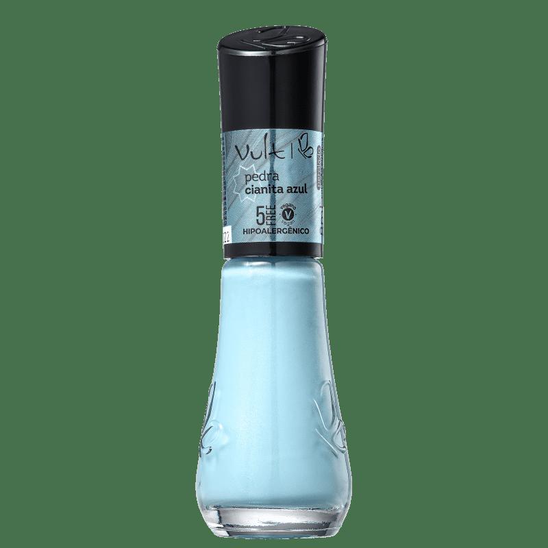 Esmalte Cremoso Vult 5Free Energia das Pedras Cianita Azul 8ml