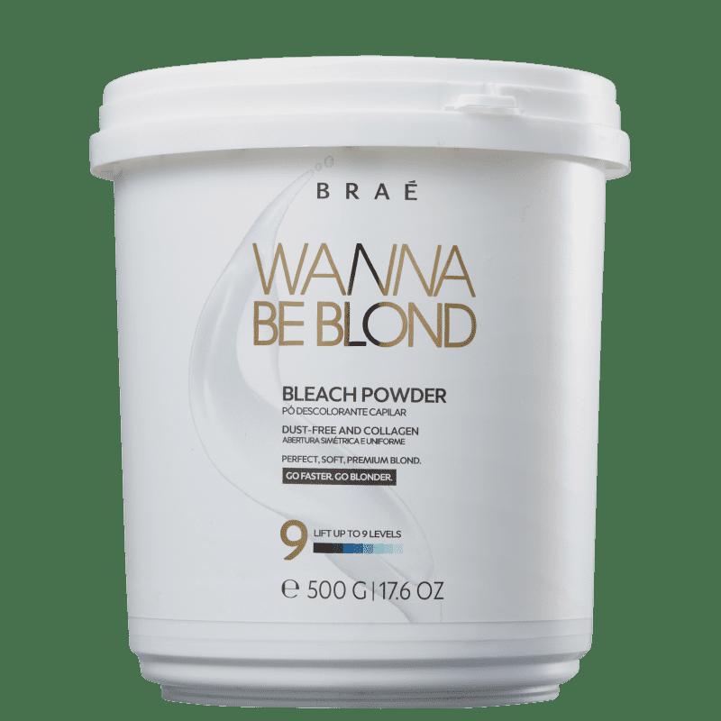 BRAÉ Wanna Be Blond - Pó Descolorante 500g