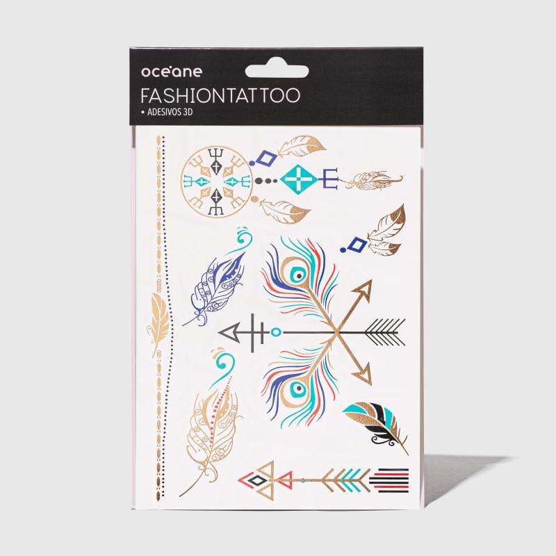 Fashion Tattoo - Tatuagem temporária FT9