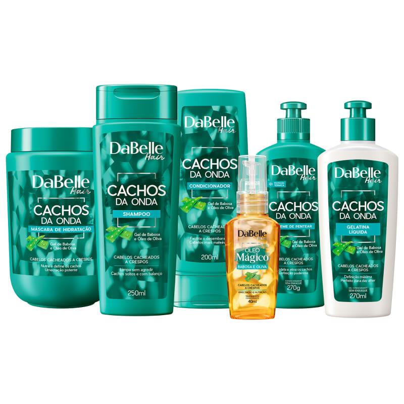 Kit DaBelle Hair Cachos da Onda Full (6 Produtos)