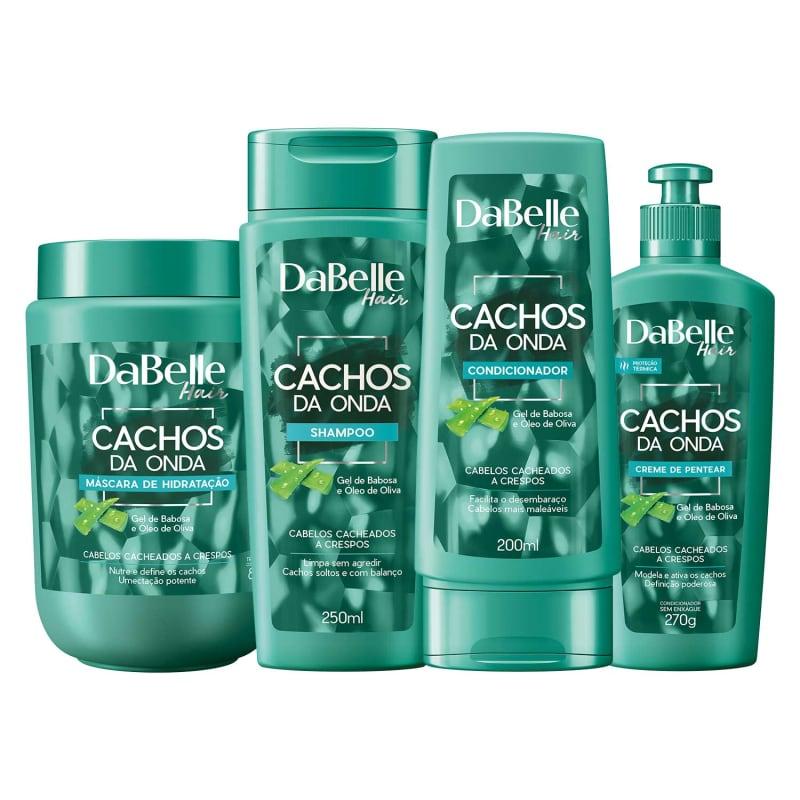 Kit DaBelle Hair Cachos da Onda (4 Produtos)