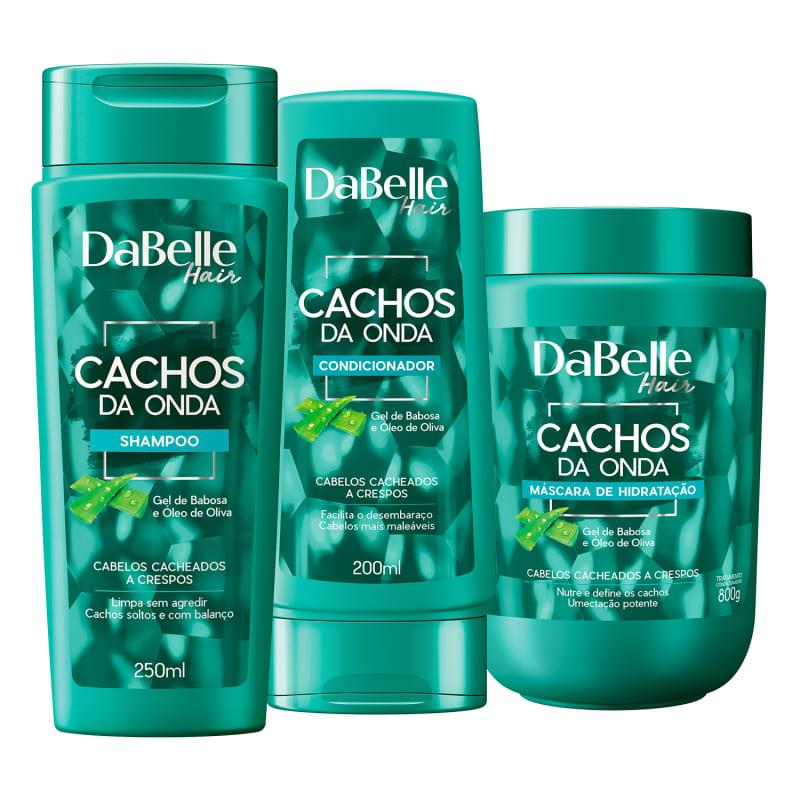 Kit DaBelle Hair Cachos da Onda Trio (3 Produtos)