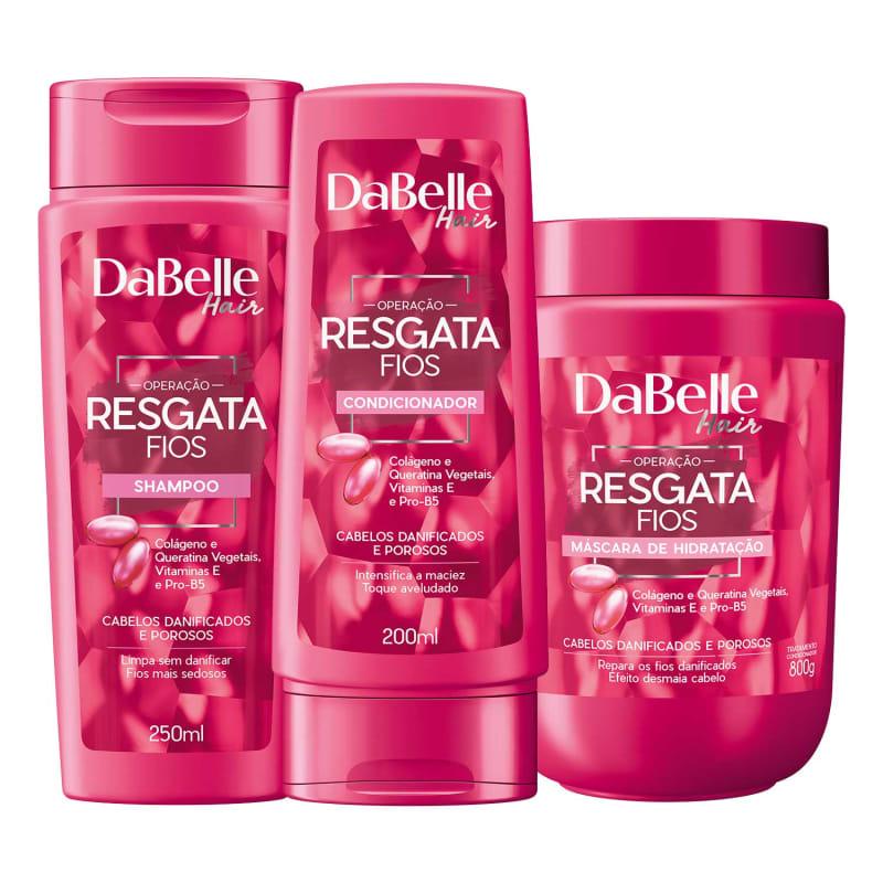 Kit DaBelle Hair Resgata Fios Trio
