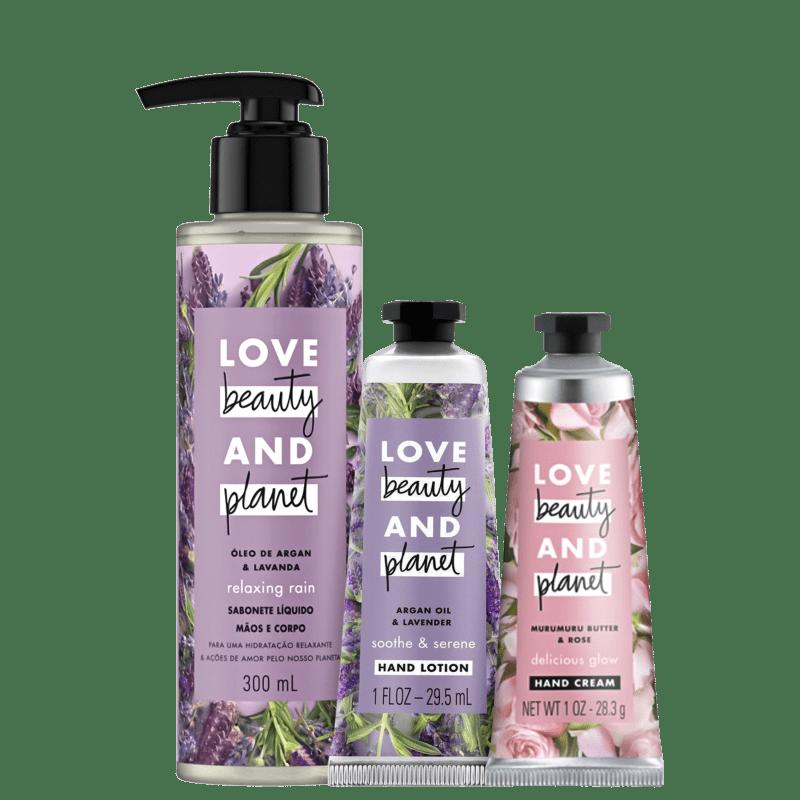 Kit Cuidado com as Mãos: Frescor Floral