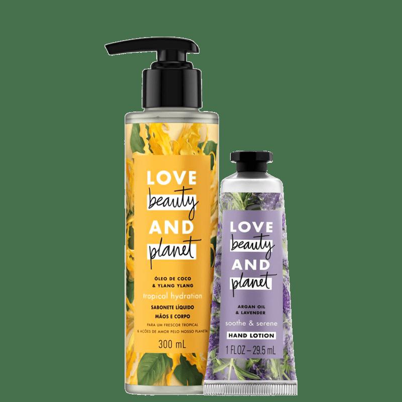 Duo Cuidado com a mãos: Tropical Floral