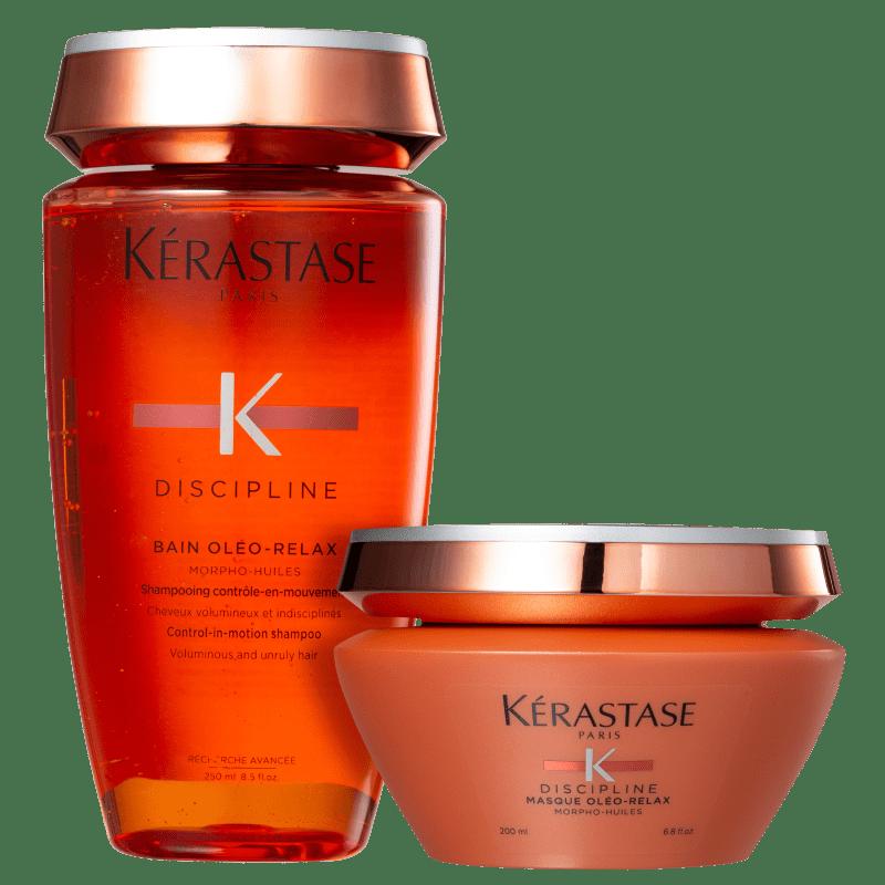 Kit Kérastase Discipline Oléo-Relax Duo (2 Produtos)
