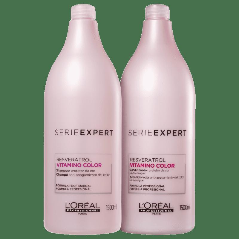 Kit L'Oréal Professionnel Vitamino Color Resveratrol Duo Salão (2 Produtos)