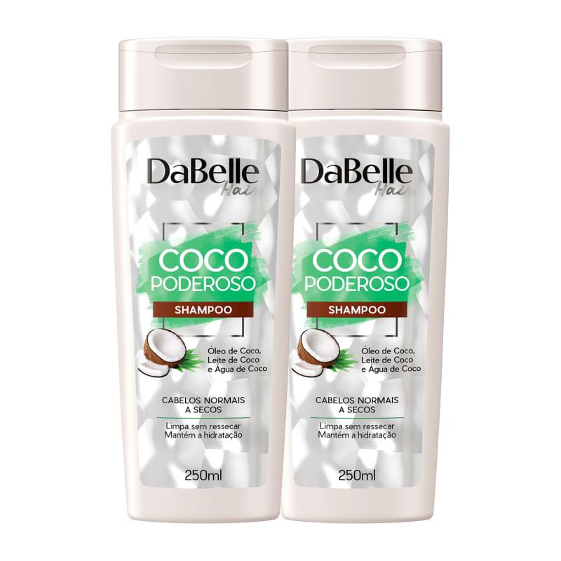 Kit DaBelle Hair Coco Poderoso Duo Shampoo