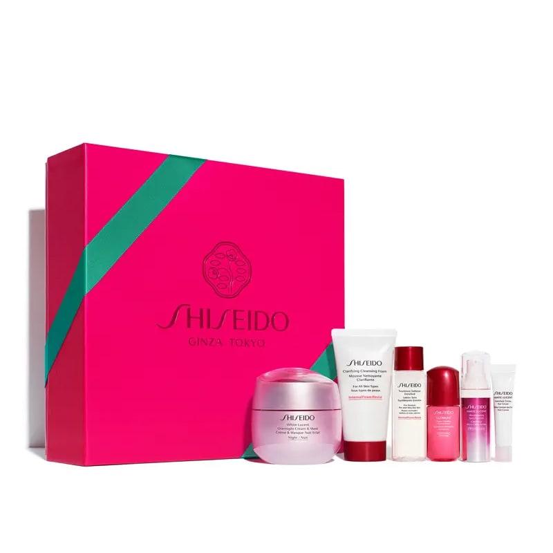 Shiseido Ultimate Brightening The Dark Spot Corrector Set - Kit de Tratamento com 6 Produtos (Valor R$1.224)