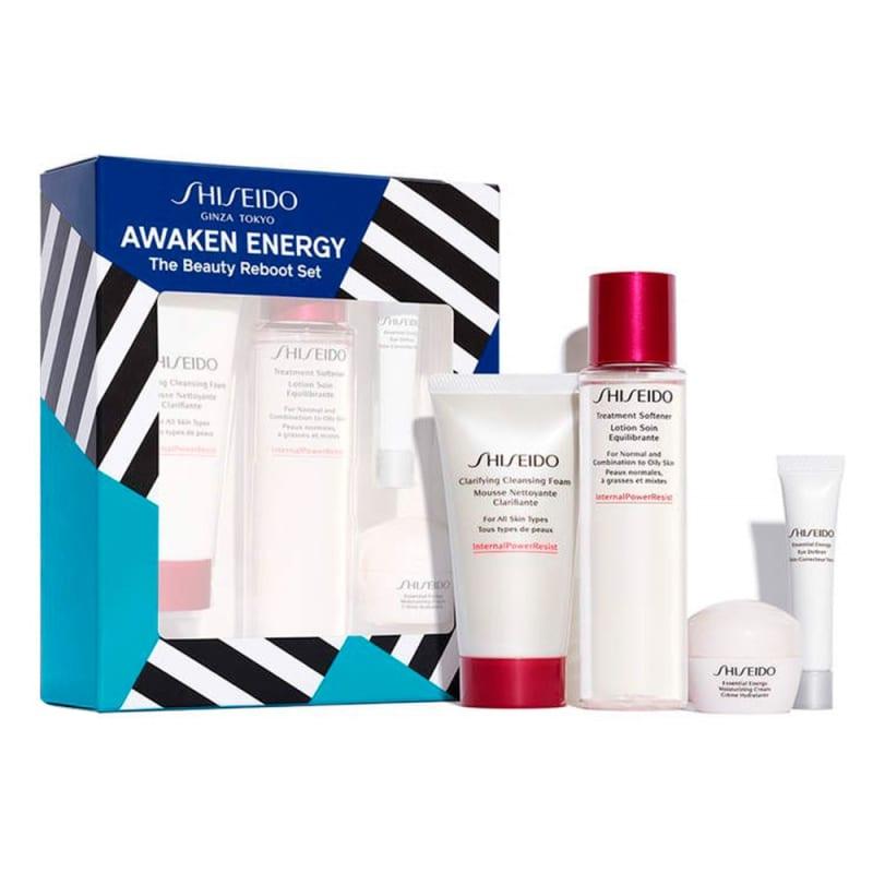 Kit Shiseido Awaken Energy (4 Produtos)