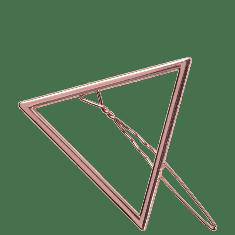 Presilha Produtinhos Da Beauty Geométrica Rose Metálica