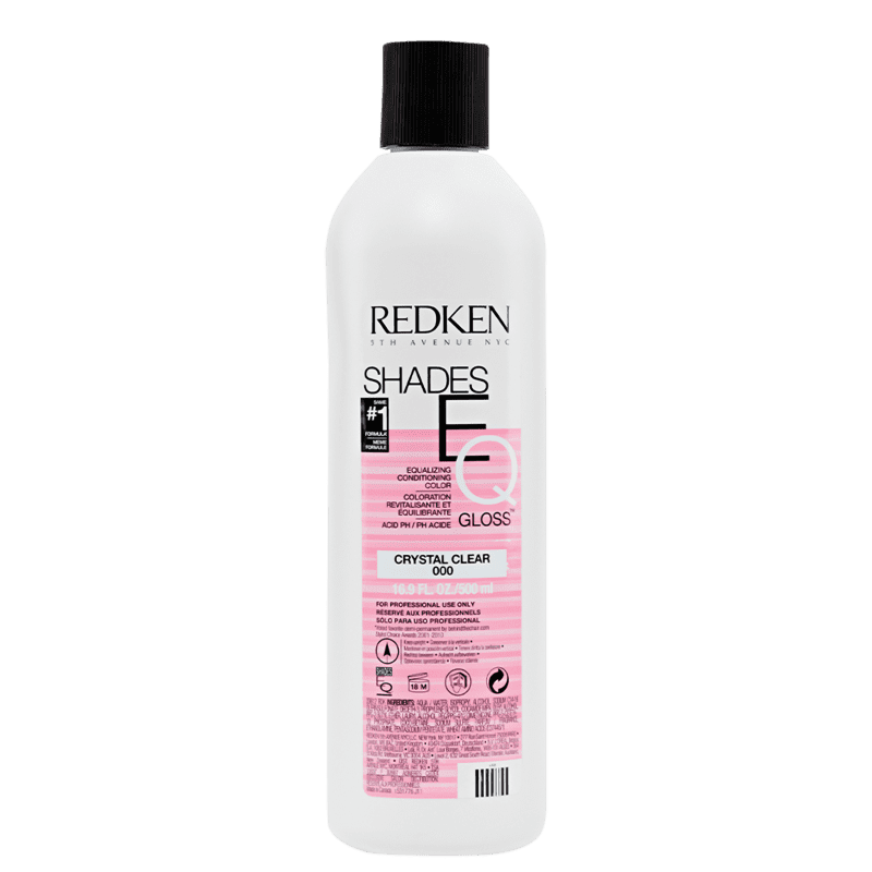 Redken Shades EQ Equalizing Conditioning Crystal Clear - Diluidor de Coloração 500ml