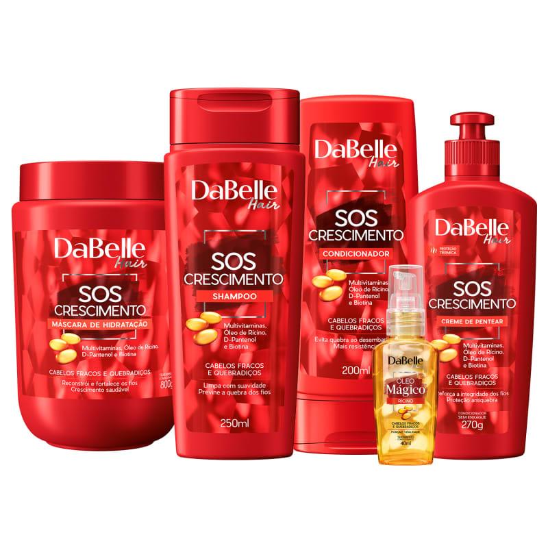Kit DaBelle Hair SOS Crescimento Full (5 Produtos)