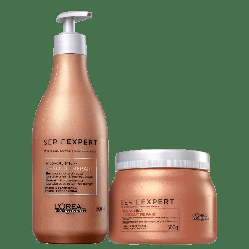 Kit L'Oréal Professionnel Absolut Repair Pós-Química (2 Produtos)