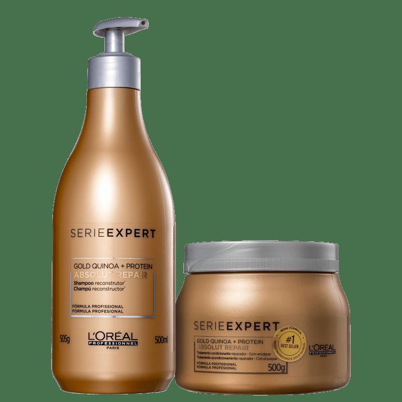 Kit L'Oréal Gold Quinoa (2 produtos)