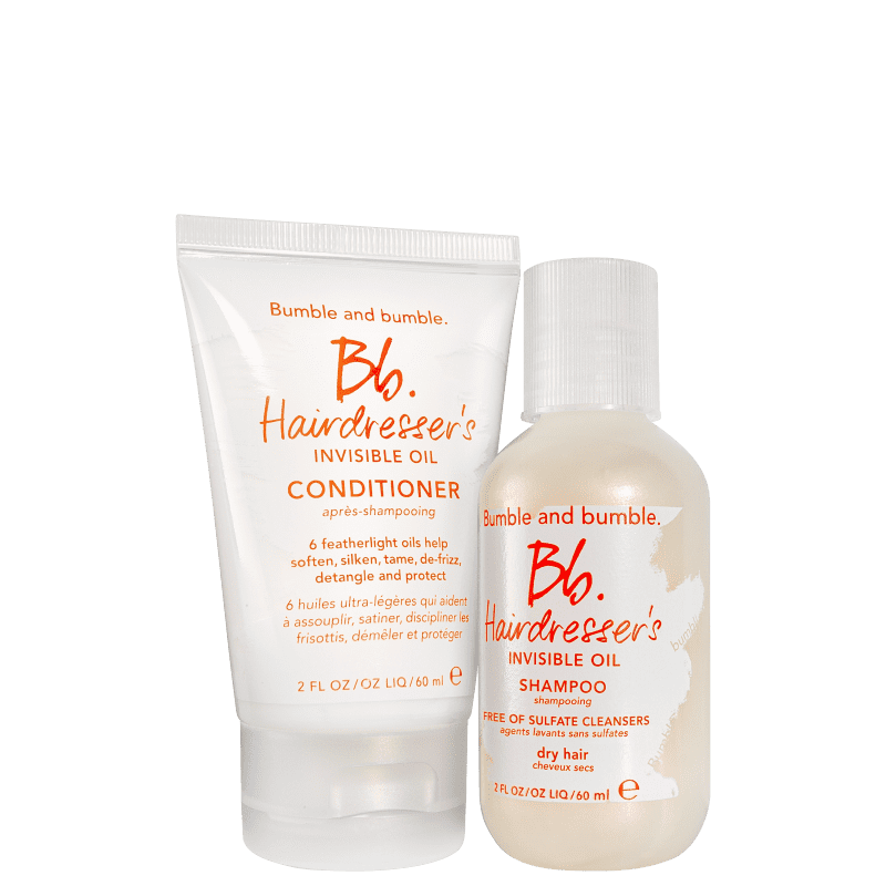 Kit Bumble and bumble Hairdresser's Invisible Oil Mini (2 Produtos)