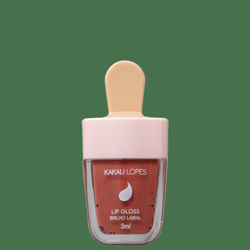 Kakau Lopes Picolips Caramel Love - Gloss Labial 3ml