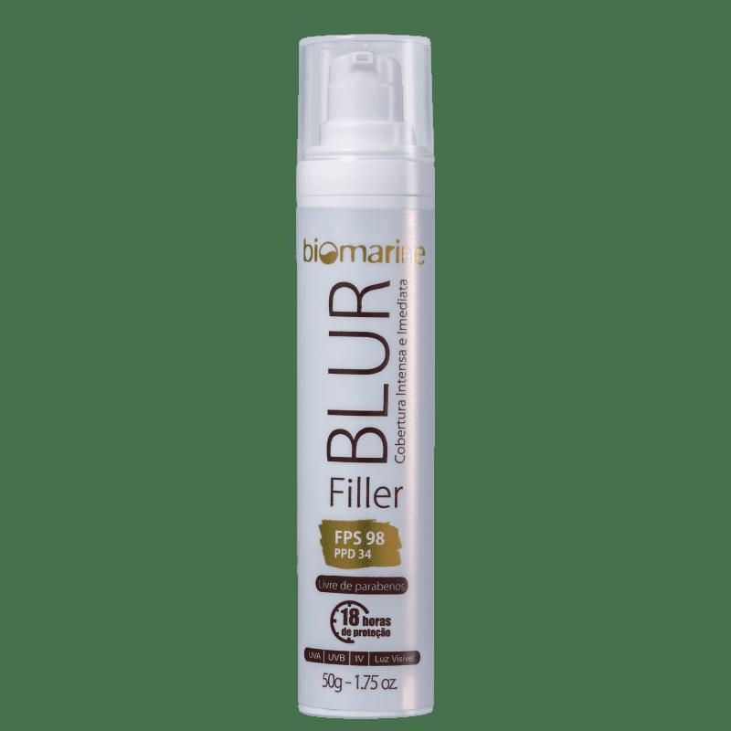 Biomarine Blur Filler FPS 98 Bege Médio - BB Cream 50g