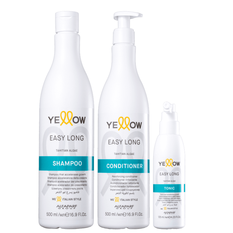 Kit Yellow Easy Long Completo (3 Produtos)