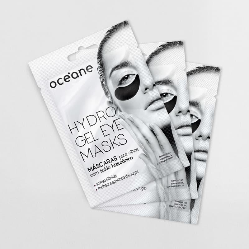 Kit Hydrogel Eye Mask - Máscara para olhos (3 produtos)