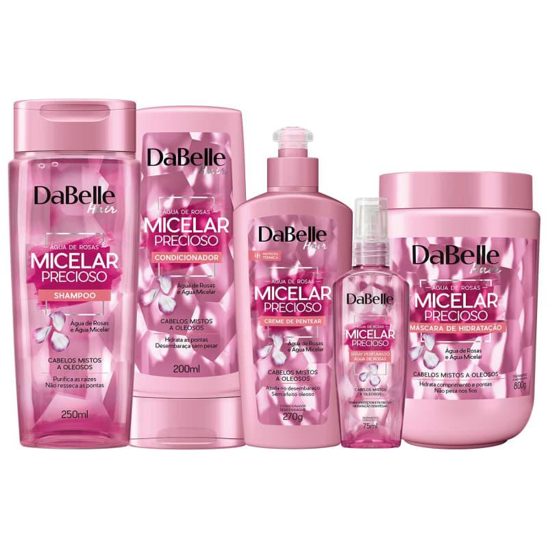 Kit DaBelle Micelar Precioso Full (5 Produtos)