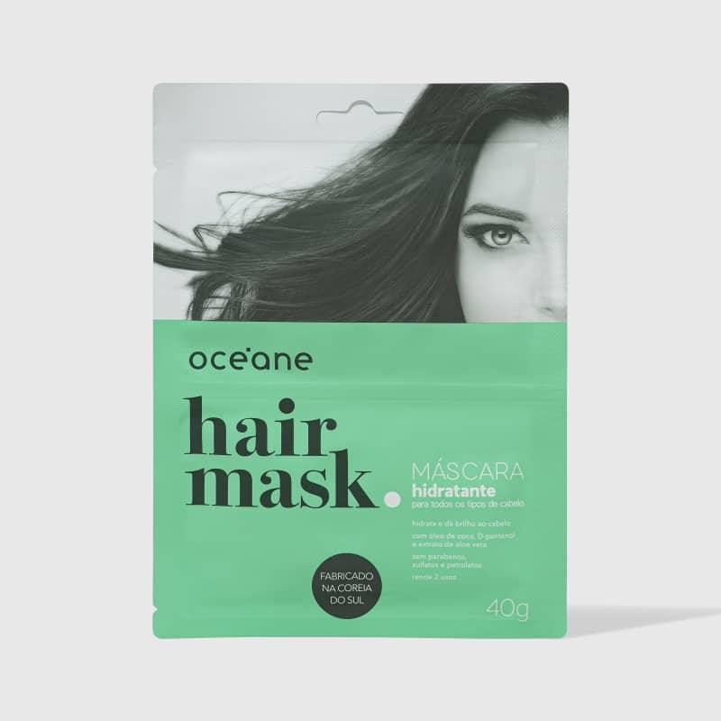 Hair Mask - Máscara Hidratante para Todos os Tipos de Cabelo