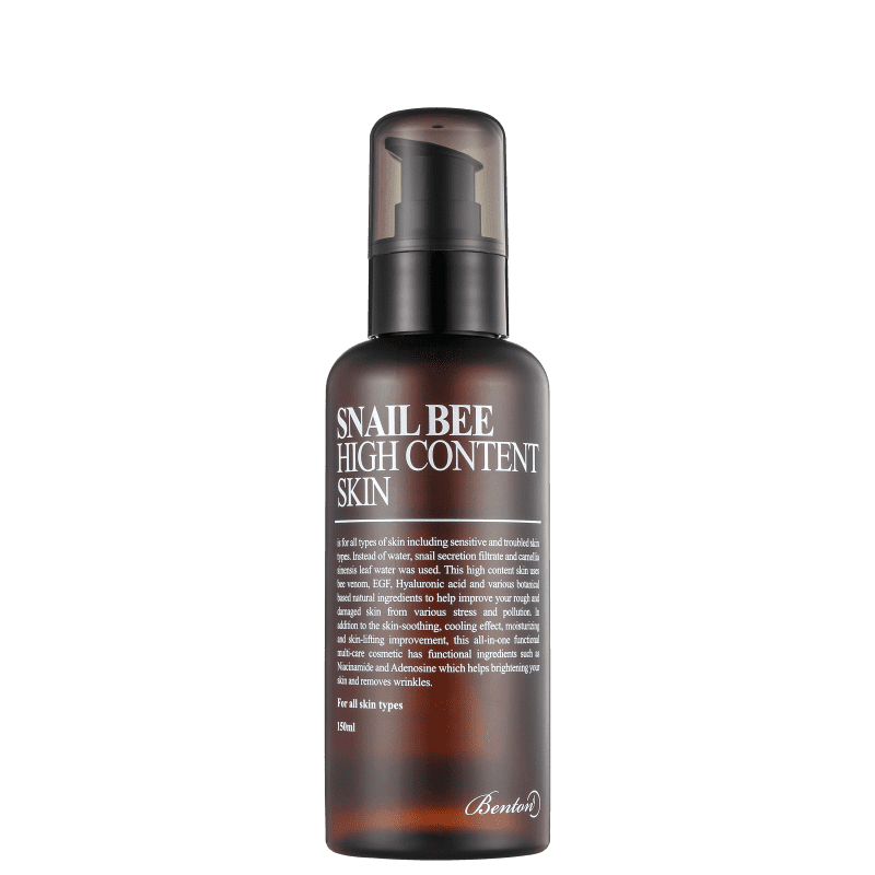 Benton Snail Bee High Content Skin - Tônico Facial 150ml