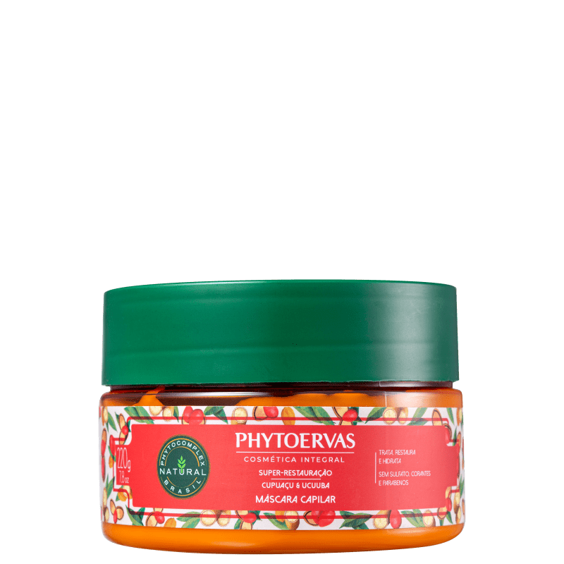 Phytoervas Super Restauração - Máscara Capilar 220g