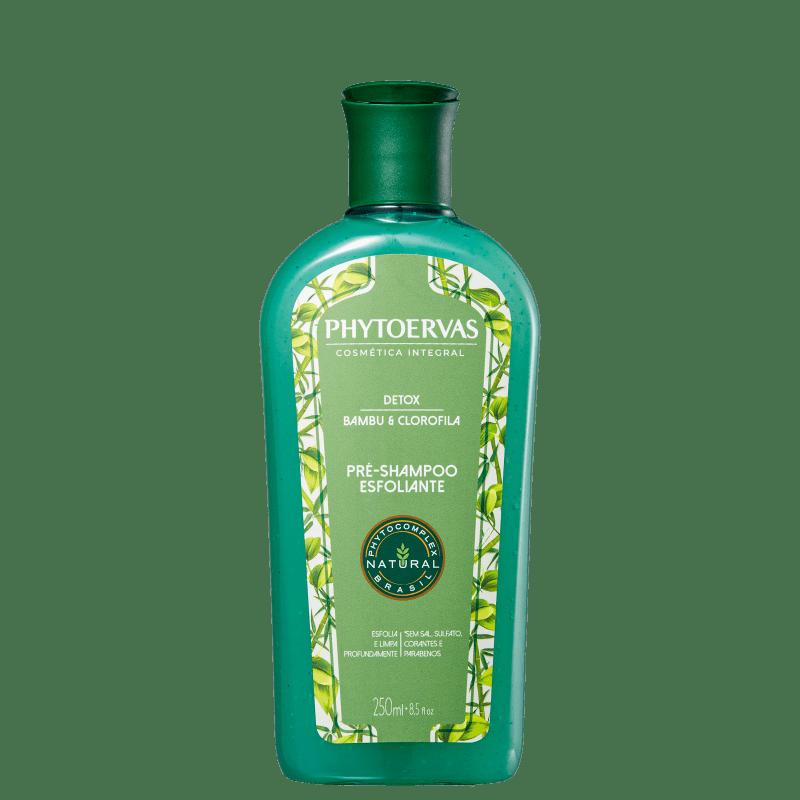 Phytoervas Detox Bambu e Clorofila - Pré-Shampoo 250ml