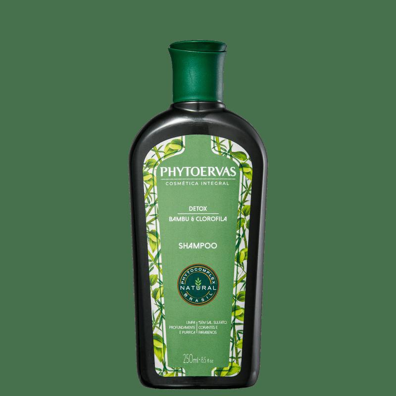 Phytoervas Detox Bambu e Clorofila - Shampoo 250ml
