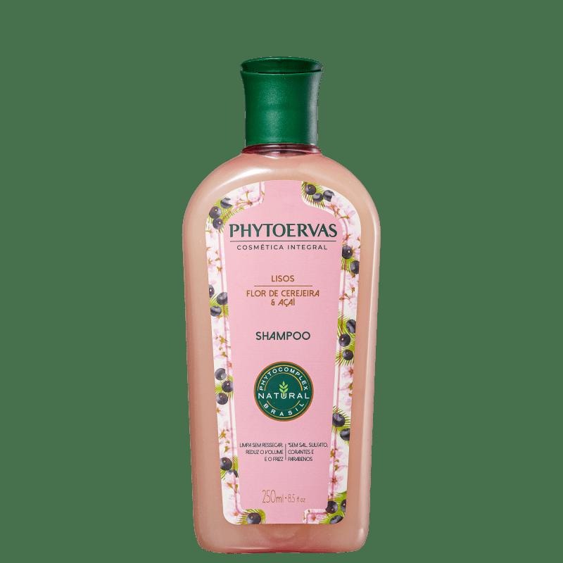 Phytoervas Lisos Flor de Cerejeira e Açaí - Shampoo 250ml