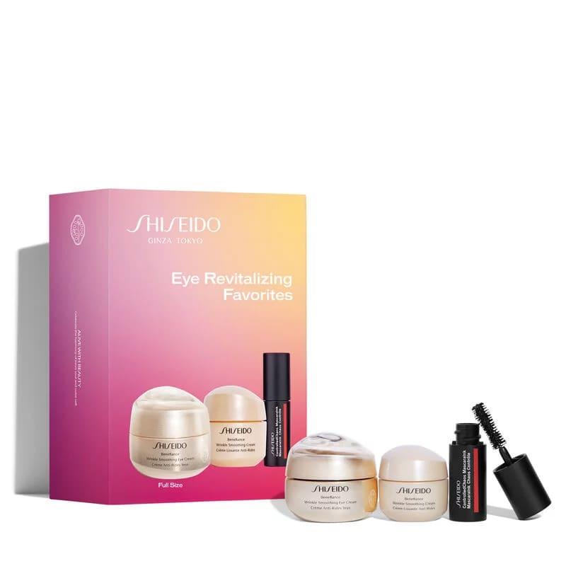 Benefiance Eye Revitalizing Favorites Set - Kit de Tratamento e Maquiagem com 3 Produtos (Valor R$749)