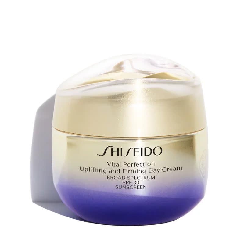 Shiseido Vital Perfection Uplifting and Firming Day Cream SPF30 - Creme Hidratante Facial Diurno de Firmeza e Efeito Lifting 50ml