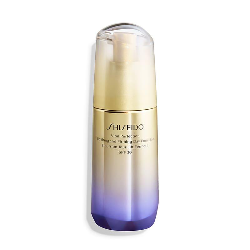 Shiseido Vital Perfection Uplifting and Firming Day Emulsion SPF30 - Emulsão Hidratante Facial Diurno de Firmeza e Efeito Lifting 75ml