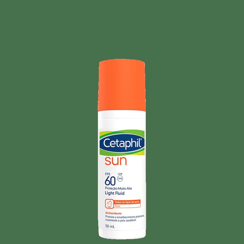 Cetaphil Sun Antioxidante Light Fluid FPS 60 - Protetor Solar Facial 50ml